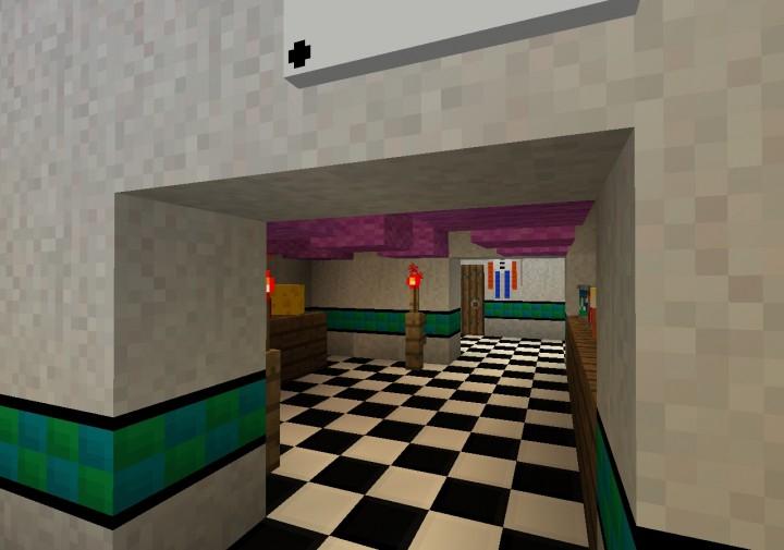 Samgladiator FNAF Nightmare MAP DOWNLOAD Minecraft Project