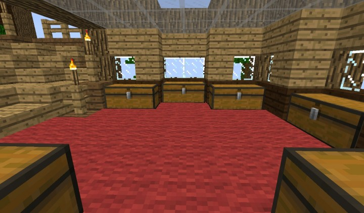 Cool 4 Room Treehouse Minecraft Project