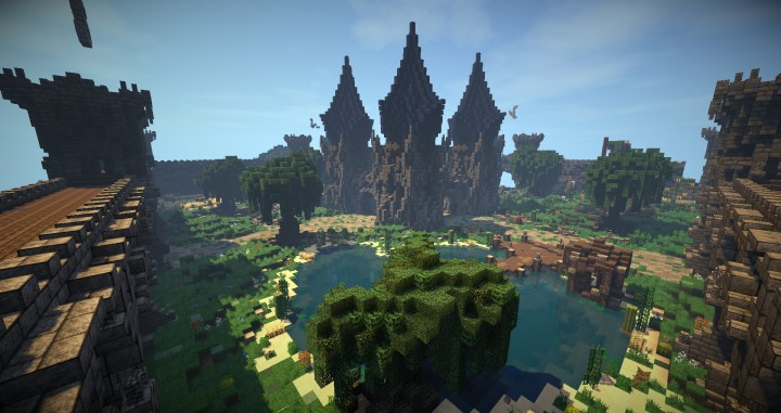 Factions Spawn WarZone Tharos Minecraft Project