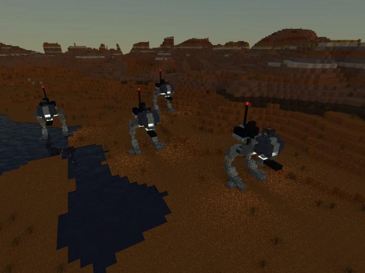 AT RT Walker STAR WARS Minecraft Project