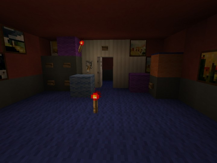 Fnaf 4 Functional Multiplayer Map No Command Blocks Minecraft Project