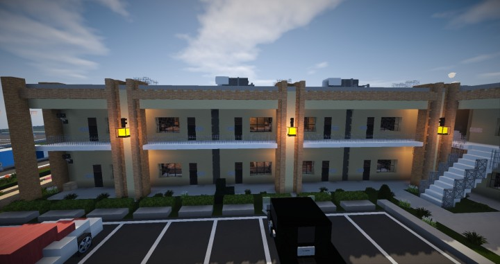 MOTEL Q Motel Minecraft Project