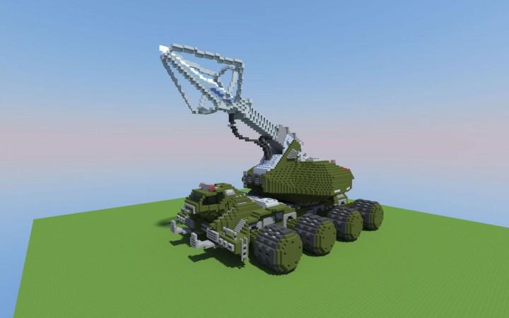 Type 92 Maser Beam Tank Minecraft Project