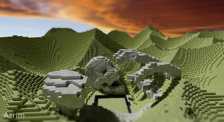 Desert Bones Minecraft Project
