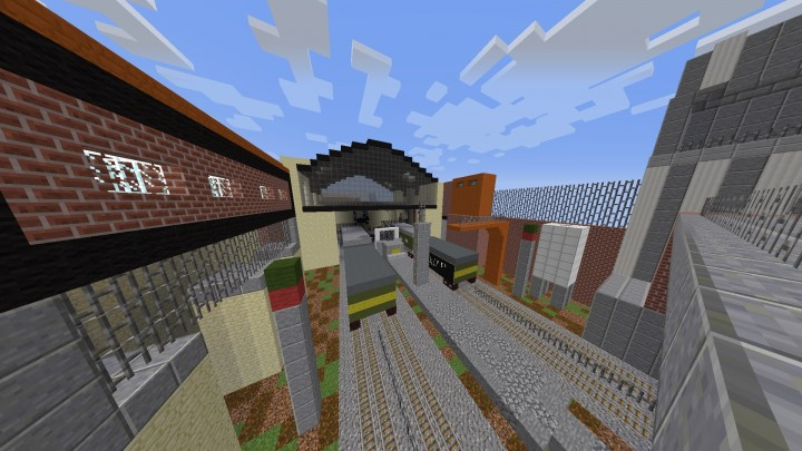 Full Half Life 2 Map City 17 Minecraft Project