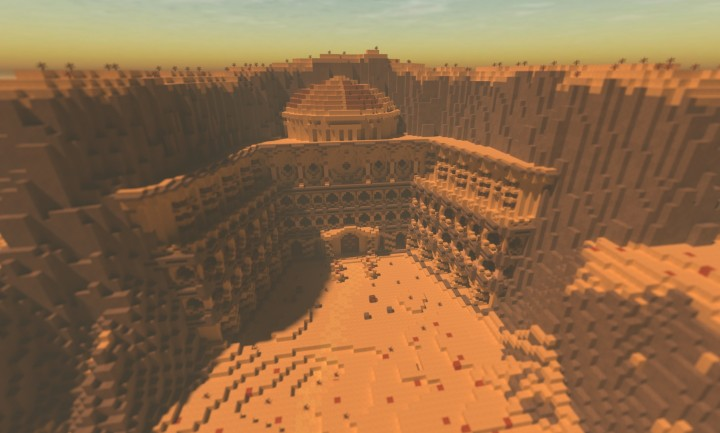 Download Nanda Parbat From Arrow In Minecraft