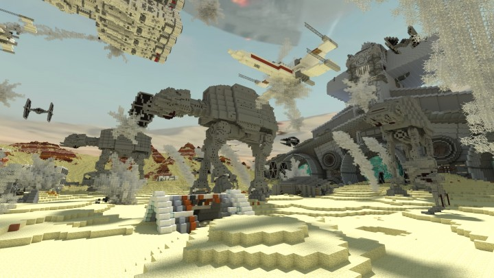 Star Wars The Battle Of Jakku Minecraft Project