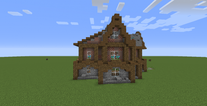 Rustic House Minecraft Project