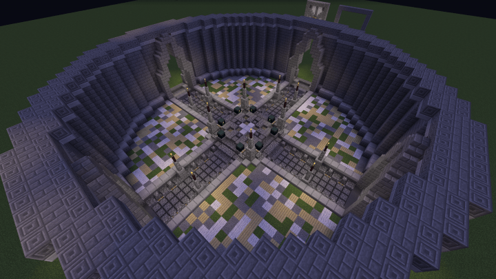 Small Hub Server Spawn Minecraft Project