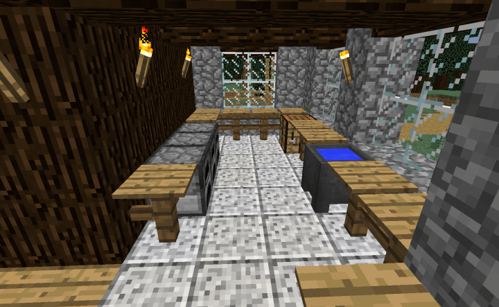 Woodland Cottage Minecraft Project