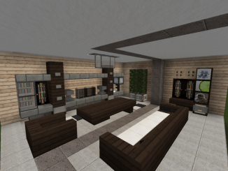 Living Room Ideas For Minecraft