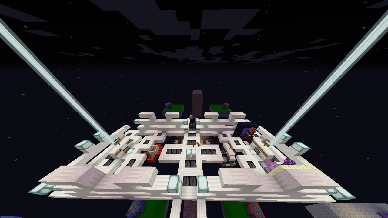 TNT Wars Map Minecraft Project