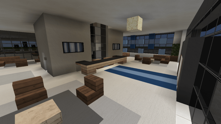 Modern Office Building 2 Minecraft Project
