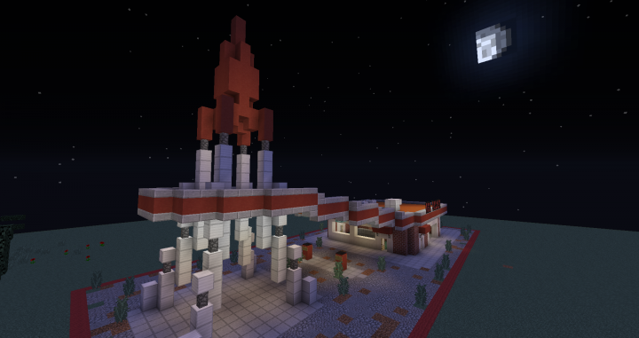 Fallout 4 Red Rocket Station Minecraft Project