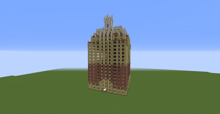 Minecraft Apartment Building New York