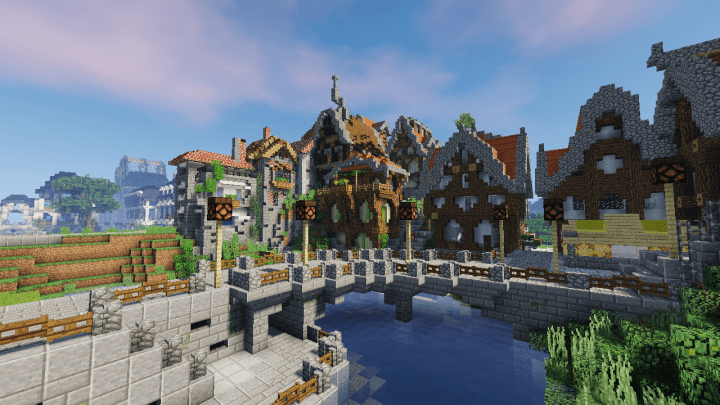 Wip Contemporary Roleplay City Ville Rp Contemporaine Minecraft Map