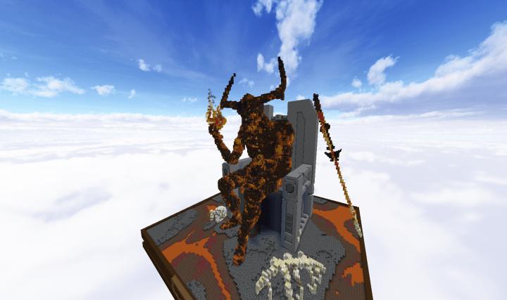 Valkor Ragnarok Skin Minecraft Thor