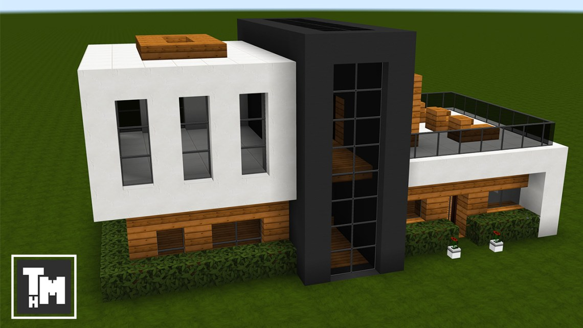Minecraft: How To Build a Small Modern House Easy (Episode ...