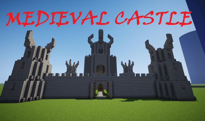Medieval Castle Schematic Minecraft Map