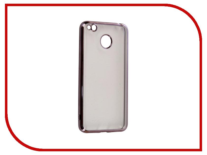 Аксессуар Чехол Xiaomi Redmi 4X iBox Blaze Silicone Black frame