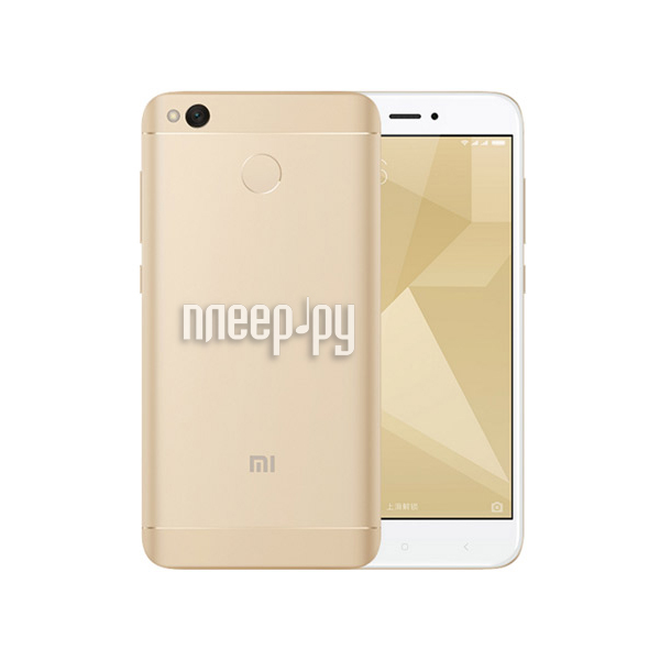Сотовый телефон Xiaomi Redmi 4X 3Gb RAM 32Gb Gold