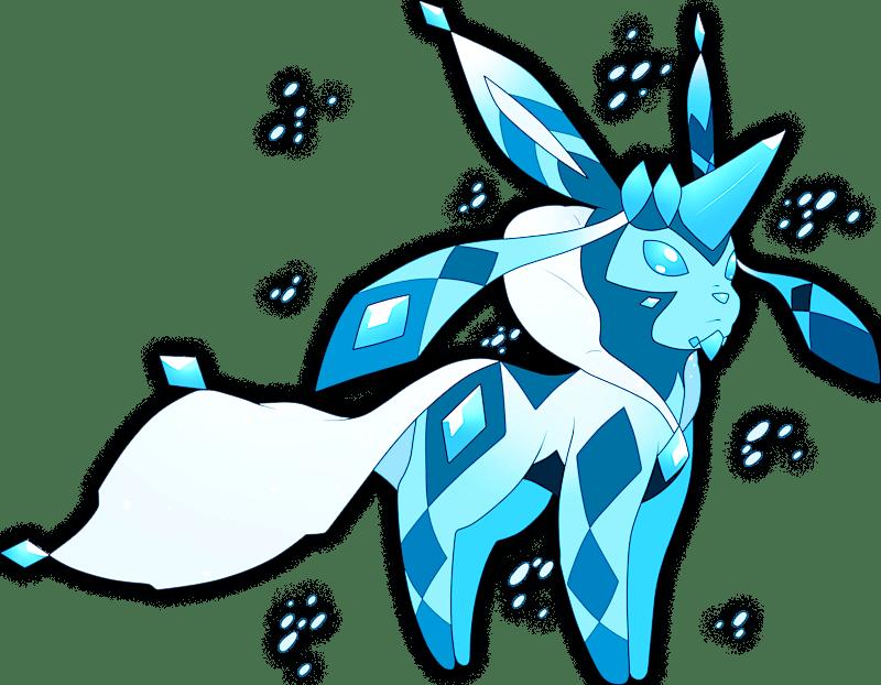 pokemon glaceon shiny pokémon 10471 mega s
