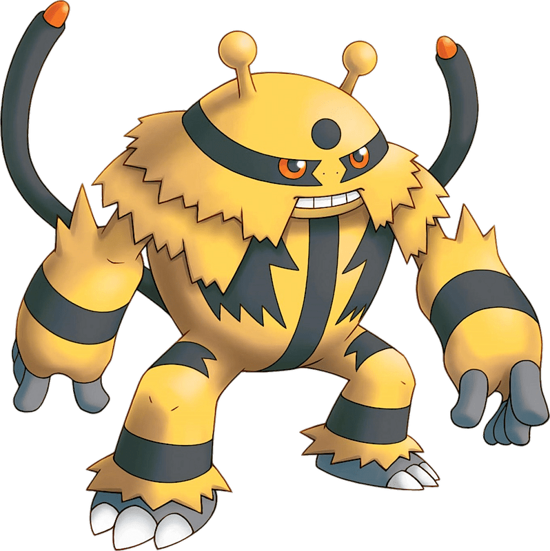 Pokemon 466 Electivire Pokedex Evolution Moves Location