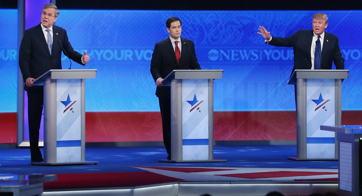 11 Most Explosive Moments Of The Gop Debate Politico