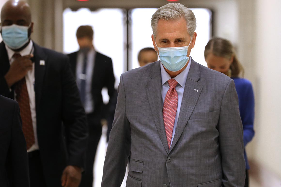 Kevin McCarthy asks Dems to pull FISA bill