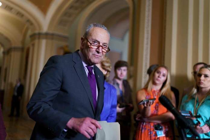 Senate Democrats weigh $6T infrastructure bill, without GOP