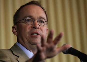 Mick Mulvaney becomes top Democratic impeachment target
