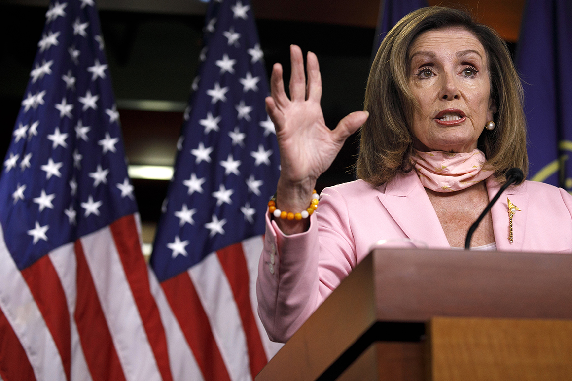 Pelosi rejects White House's $1 trillion price tag for pandemic relief