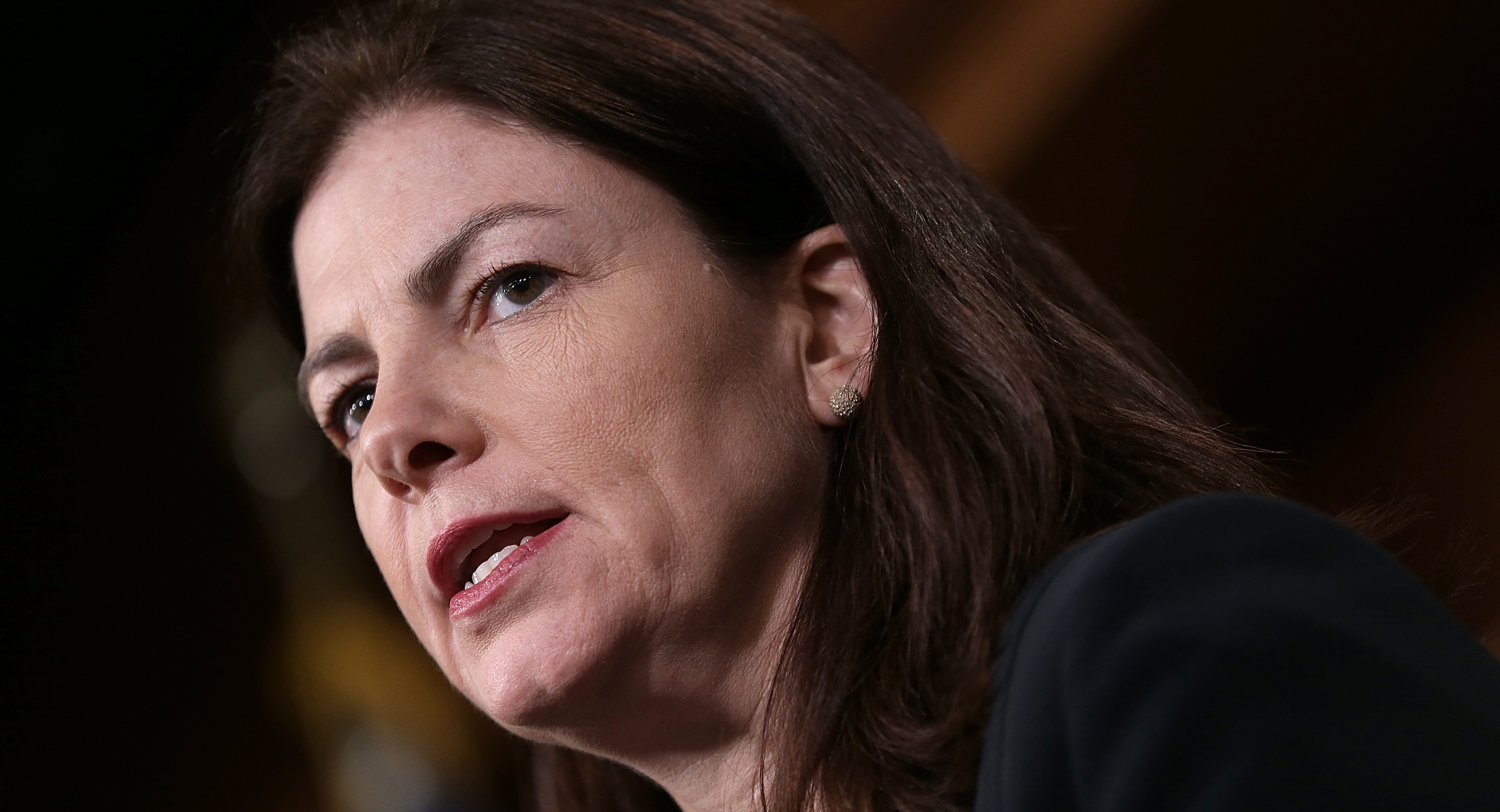 Sen. Kelly Ayotte (R-NH) is pictured.