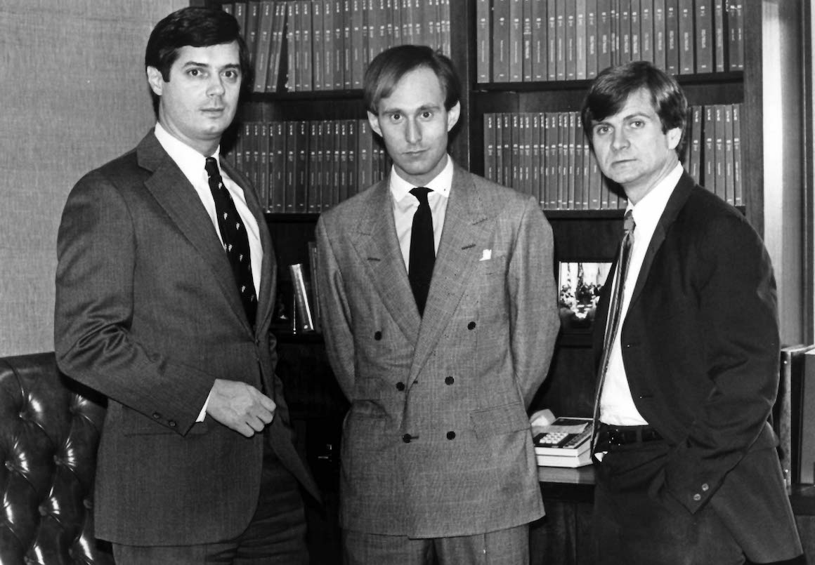 Image result for photo of manafort with reagan