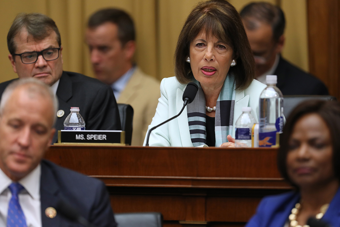 Jackie Speier withdraws from Oversight race as contest heats up