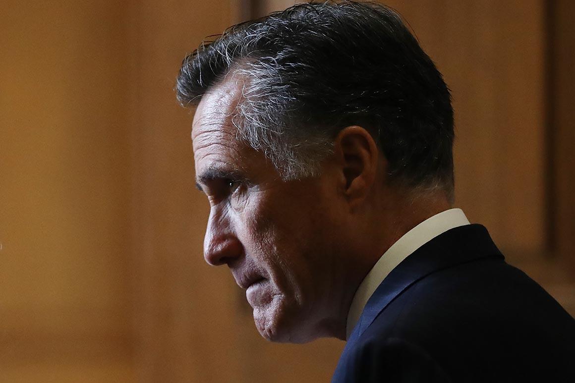 Romney condemns Trump for Scarborough staffer tweets: 'Enough already'