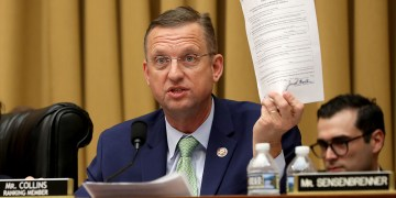 How one GOP congressman might use impeachment to jump to the Senate