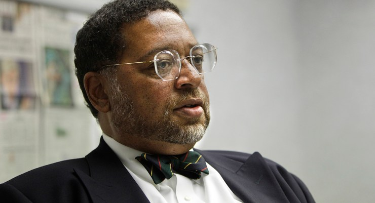 Michigan Supreme Court Chief Justice Robert Young is pictured.