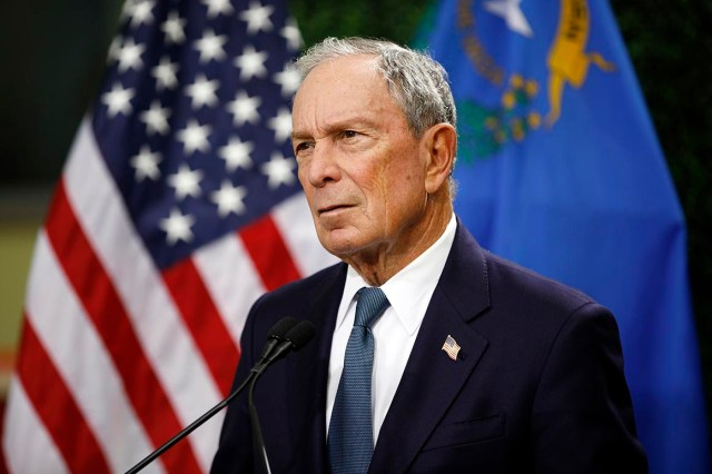 Bloomberg in 2016: 'Yes, Donald, I do love you'