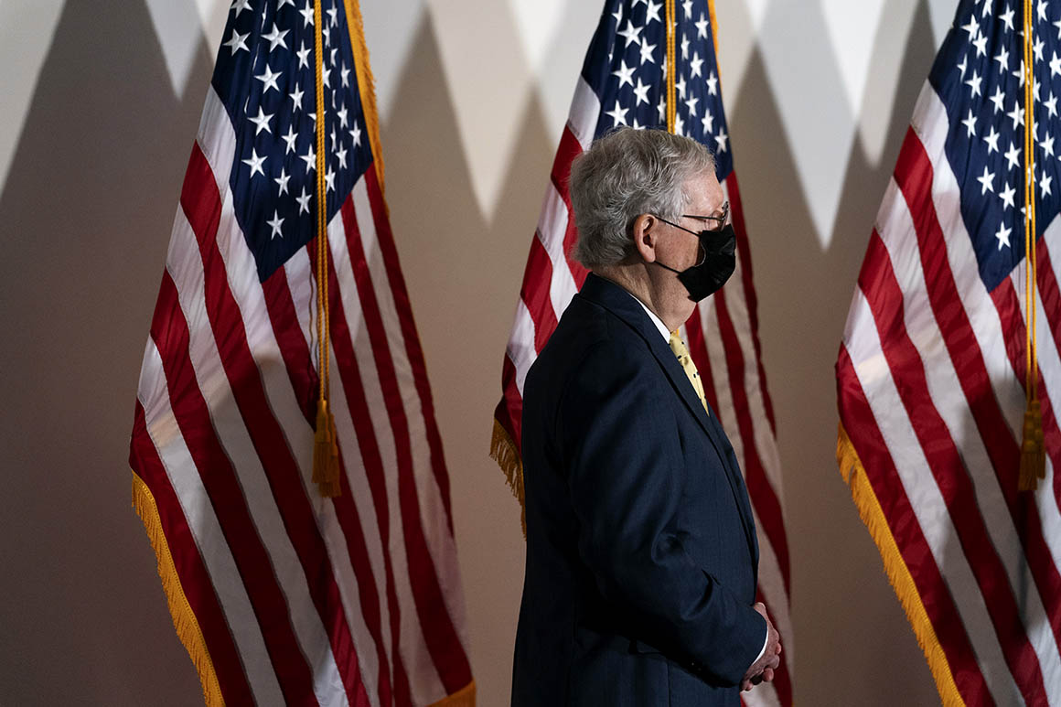 Photo of McConnell locks down key Republican votes for Supreme Court fight