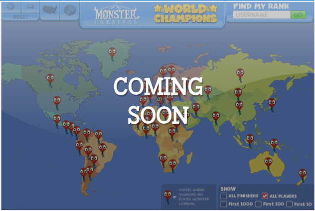 Click to View the Monster Carnival Player Map