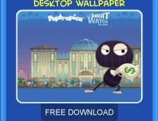 Night Watch Island free wallpaper download
