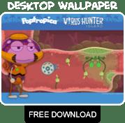 Virus Hunter Island free wallpaper download