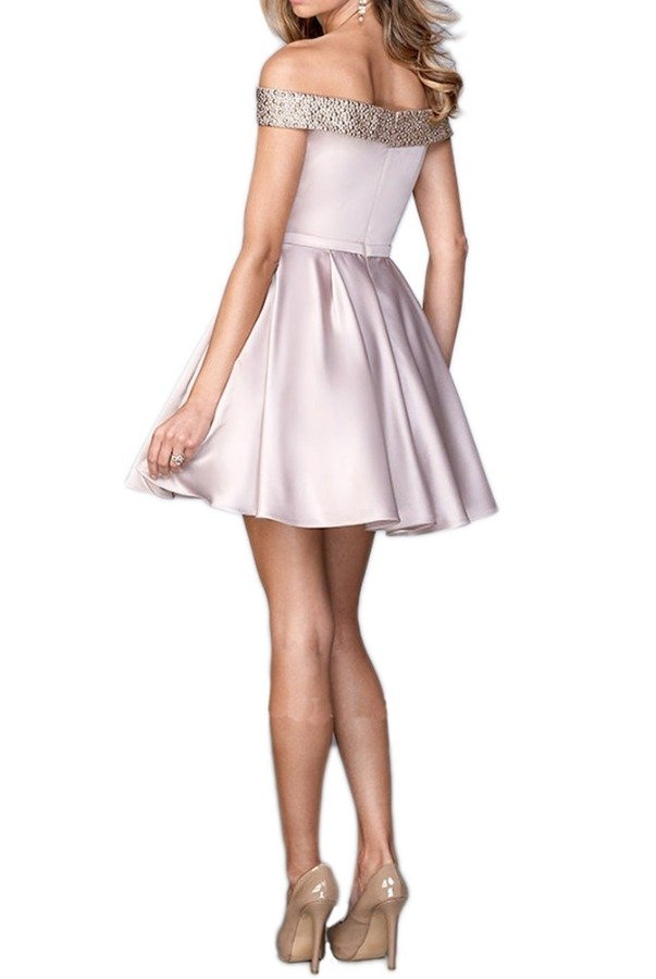 LA FEMME 22105 Pink Champagne Party Dress