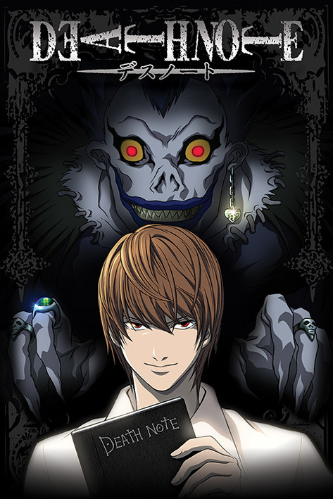 death note from the shadows poster plakat 3 1 gratis bei europosters