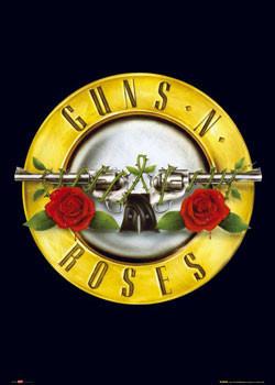 guns n roses logo poster plakat 3 1 gratis bei europosters