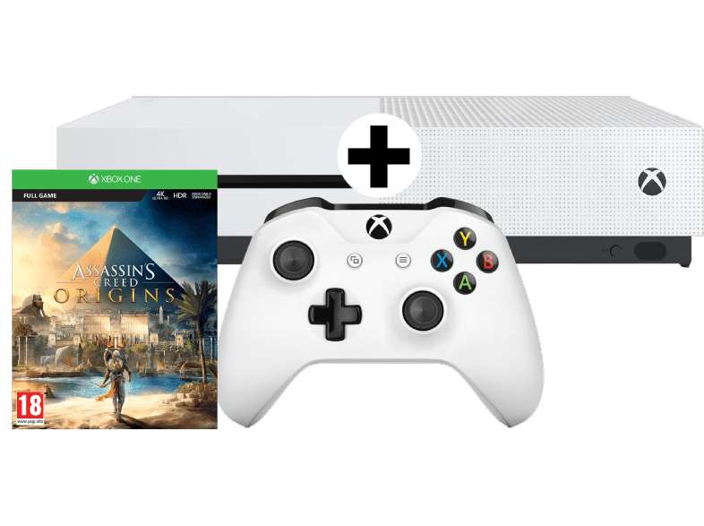 Xbox One S Bundle 500 GB Assassinss Creed Origins