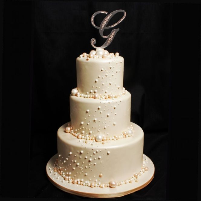 Sweet Eyelet Lace Birthday Cake Elegant Wedding Cakes Gallery Picture Design And Cookies