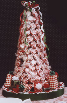 Peppermint Sweets Christmas Tree