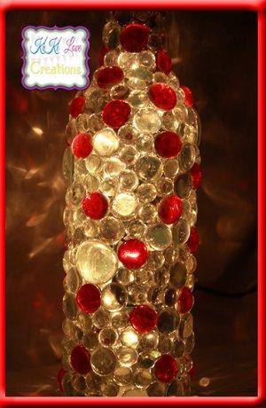 Illuminated Wine Bottle